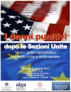 Convegno Danni Punitivi Cesena
