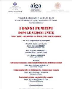 Convegno Danni Punitivi Cesena2